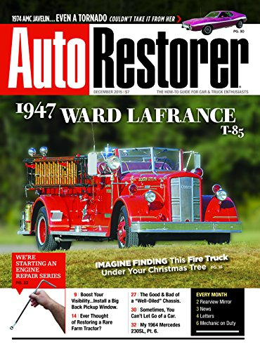 Best Price for Auto Restorer Magazine Subscription