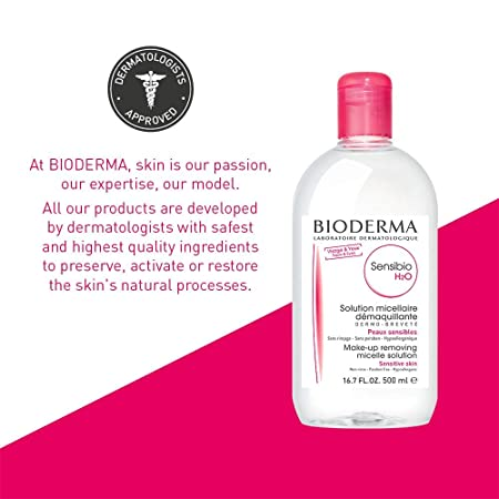 BIODERMA Sensibio H2O Solución Micelar Piel Sensible 500 ml: Amazon.es: Belleza