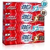 Colgate 高露洁 劲白牙膏套装480g高纯度矿物 天然吸附力(火山矿物*2+光感卓研*2)