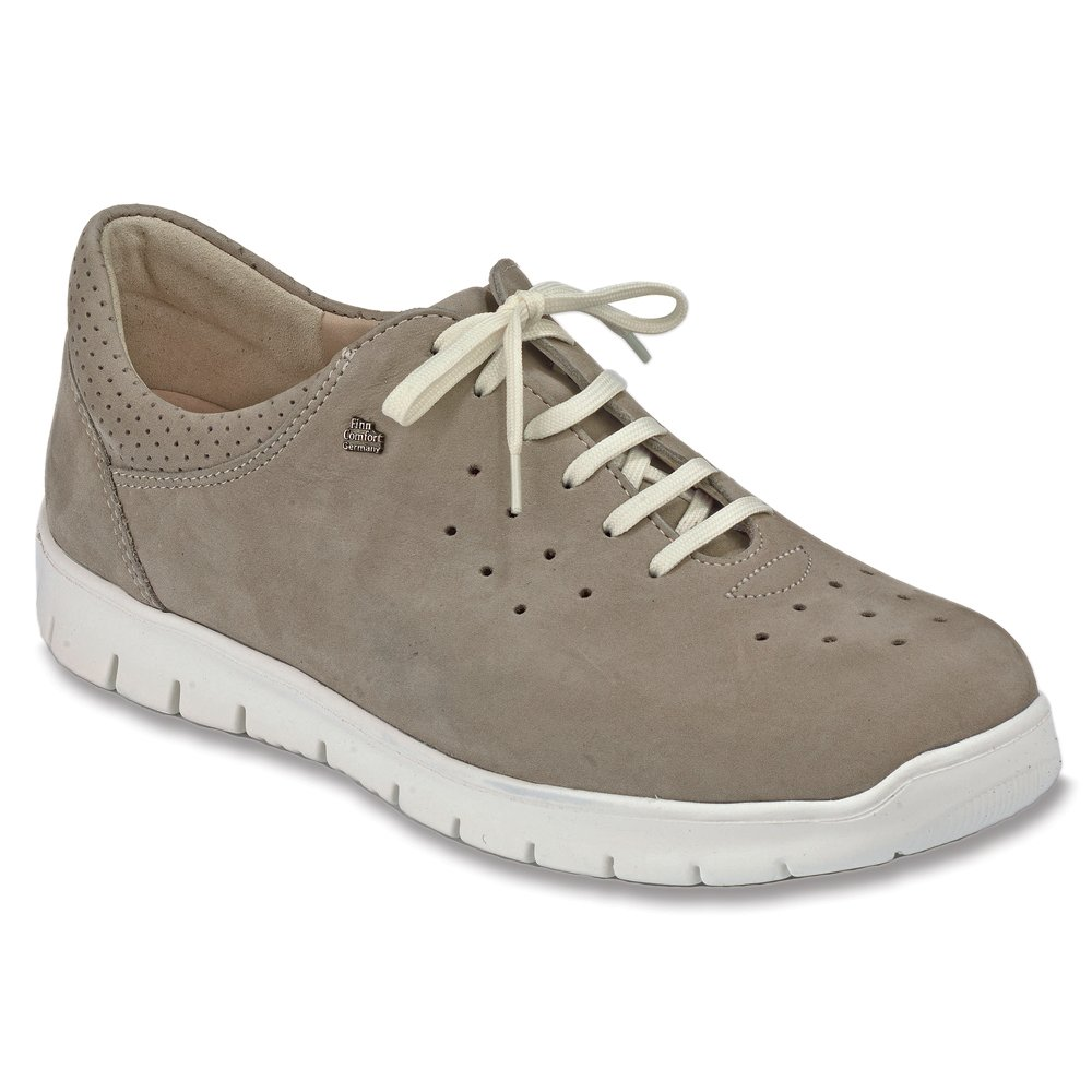 Finn Comfort Barletta Damen Damen Barletta Sneakers Grau 940f87