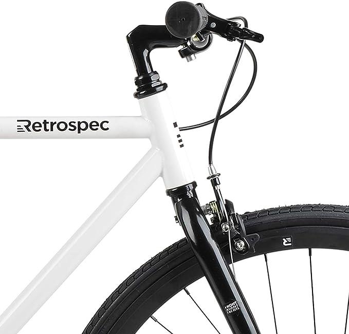Best Single Speed Bikes: Retrospec Harper Single-Speed Fixed Gear Urban Commuter Bike