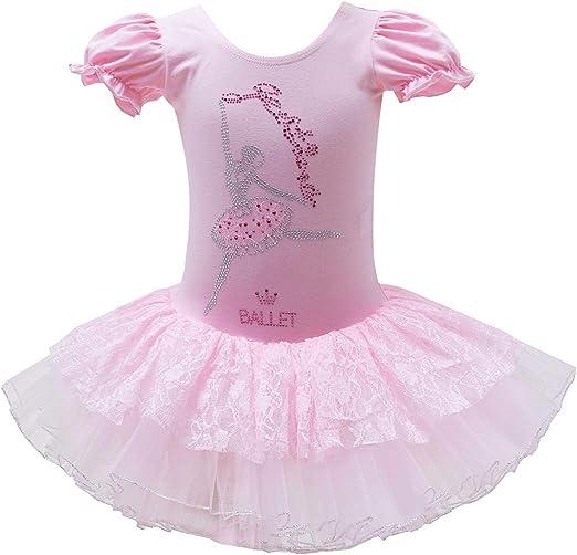 AU Seller 3 LAYER TUTU Kids Girl Ballet Dance SKIRT Costume clothing for Party B