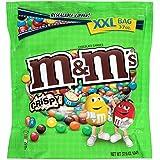 M&M's Mars Crispy 37.0 Oz Resealable Zipper Bag Candy Chocolate