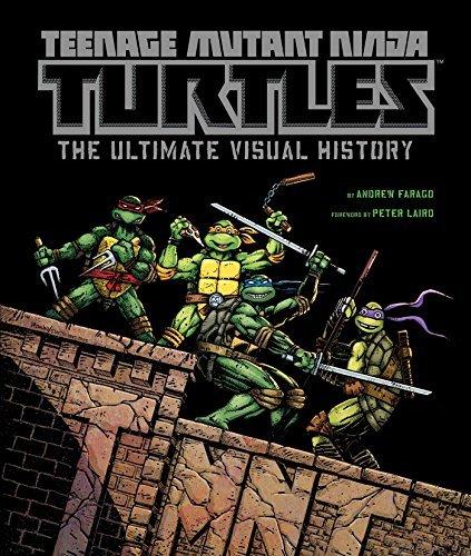 ninja turtles art book - 1