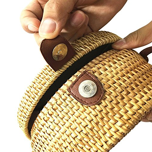 hombro de playa paja de Mochila 2018 hueca bolsa senderismo de mujer Picturea de bolsa para de de camping moda BwCPRq