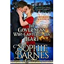 The Governess Who Captured His Heart (The Honorable Scoundrels Book 1)