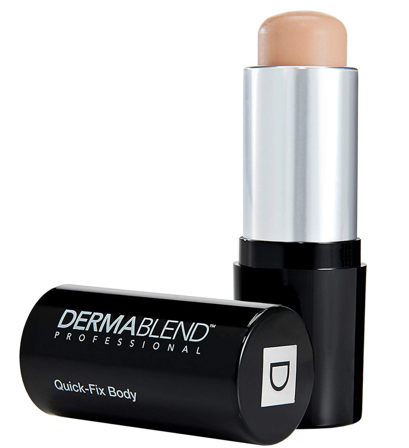 Dermablend Quick-Fix Body Makeup Full Coverage Foundation Stick, Water-Resistant Body Concealer for Imperfections & Tattoos