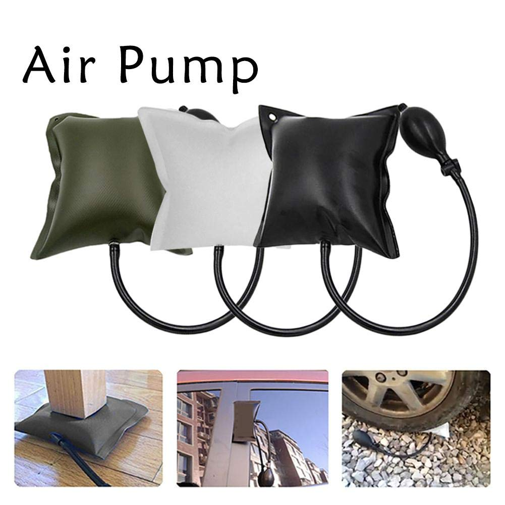Adjustable Air Pump Auto Repair Tool quare Air Wedge Pump Alignment Tool Inflatable Doors Windows Installation Tools Air Pump Wedge Up Tool Shim Powerful for Home Door Window Installation Auto Repair Besthuer