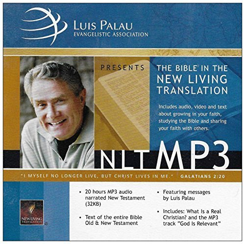 Mp3 Message (Luis Palau: The Bible in the New Living Translation [20 Hours MP3 Audio Narrated / Text of Entire Old and New Bible / Messages by Luis Palau] (MP3 Format))