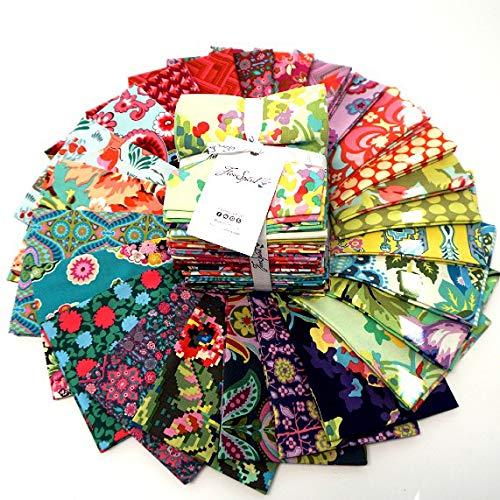 FreeSpirit Fabrics Farewell Amy 25 Piece Fat Quarter Bundle Fabric, Multicolor by Free Spirit Fabrics (Image #1)