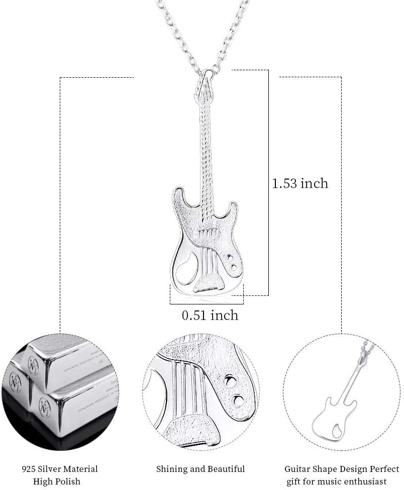 OIJH Ashes Pendant Jewelry Dog Urns Silver Fashion Popular Necklace Violin Exquisite Lady Preferred