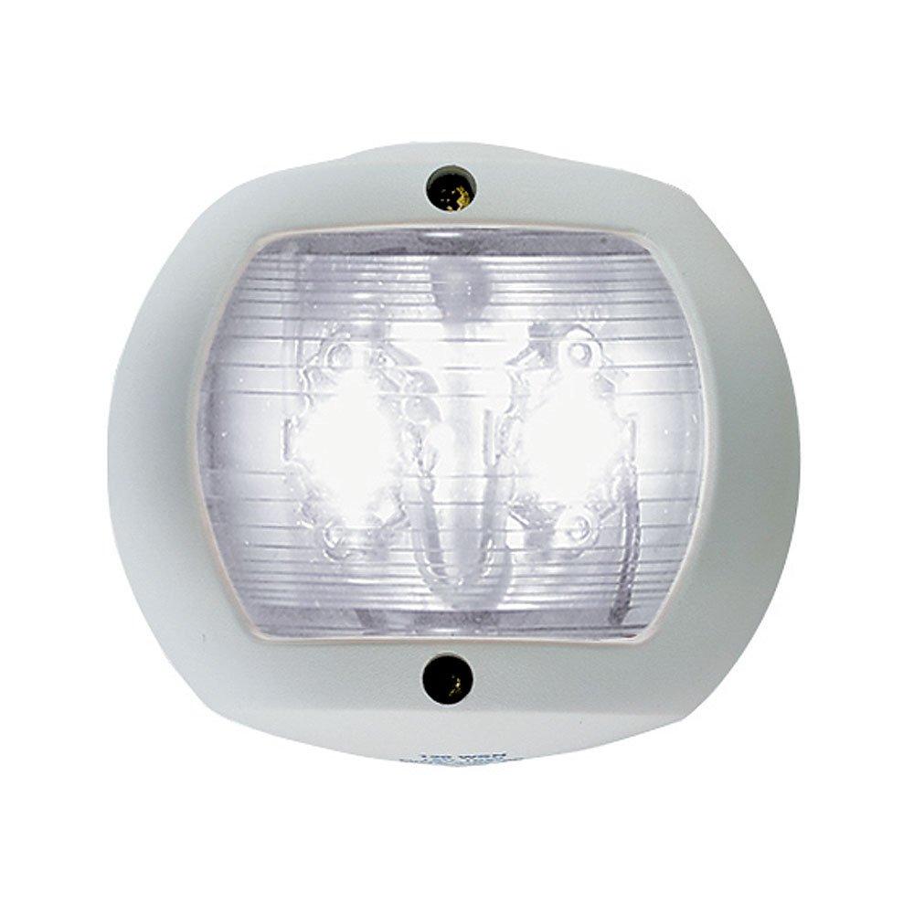 Perko LED Stern Light - White - 12V - White Plastic Housing