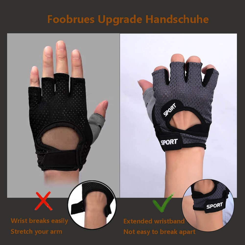 Bodybuilding Handschuhe Fitnesshandschuhe Trainingshandschuh Sporthandschuhe Gym
