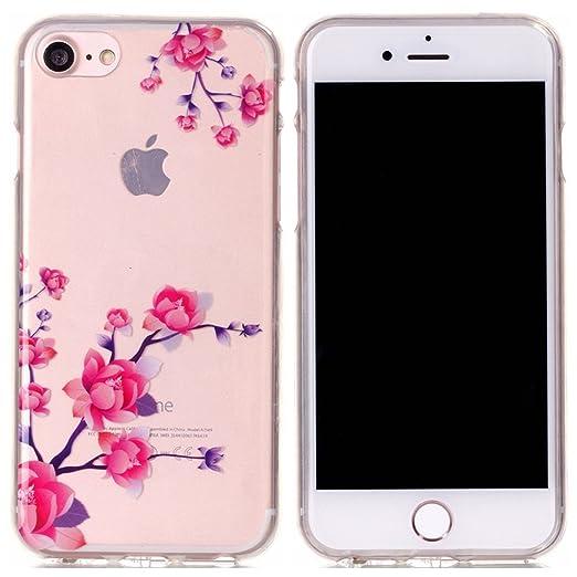 24 opinioni per Voguecase® Per Apple iPhone 7 4.7,Custodia Silicone Morbido Flessibile TPU
