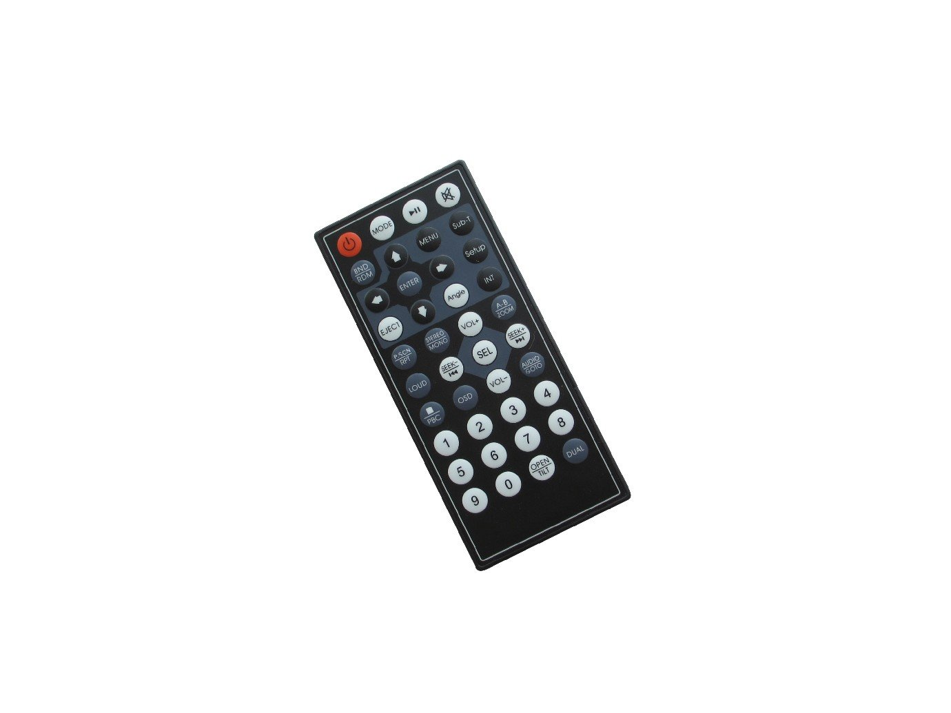 Hotsmtbang Replacement Remote Control For Power Acoustik PD-651B PD-712B PD-710T PD-651 PD-712T DVD CD USB TV FM MP3 Player Bluetooth Car Stereo Receiver