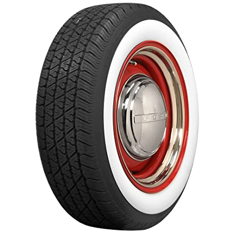 coker tire bfg whitewall radial 18570r15