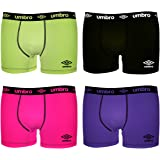 Umbro Boxer, Shorty Homme (lot de 4)