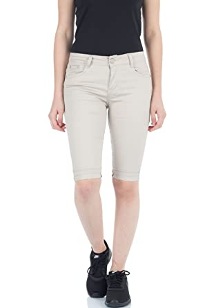 malucas Short - Skinny - Femme  Amazon.fr  Vêtements et accessoires 0d238c32c42e
