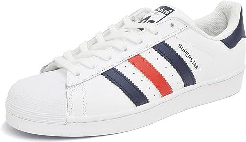 Adidas Superstar Foundation White/Navy