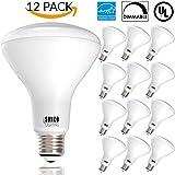Sunco Lighting 12 PACK - BR30 LED 11WATT (65W Equivalent), 2700K Soft White, DIMMABLE, Indoor/Outdoor Lighting, 850 Lumens, Flood Light Bulb, UL & ENERGY STAR LISTED