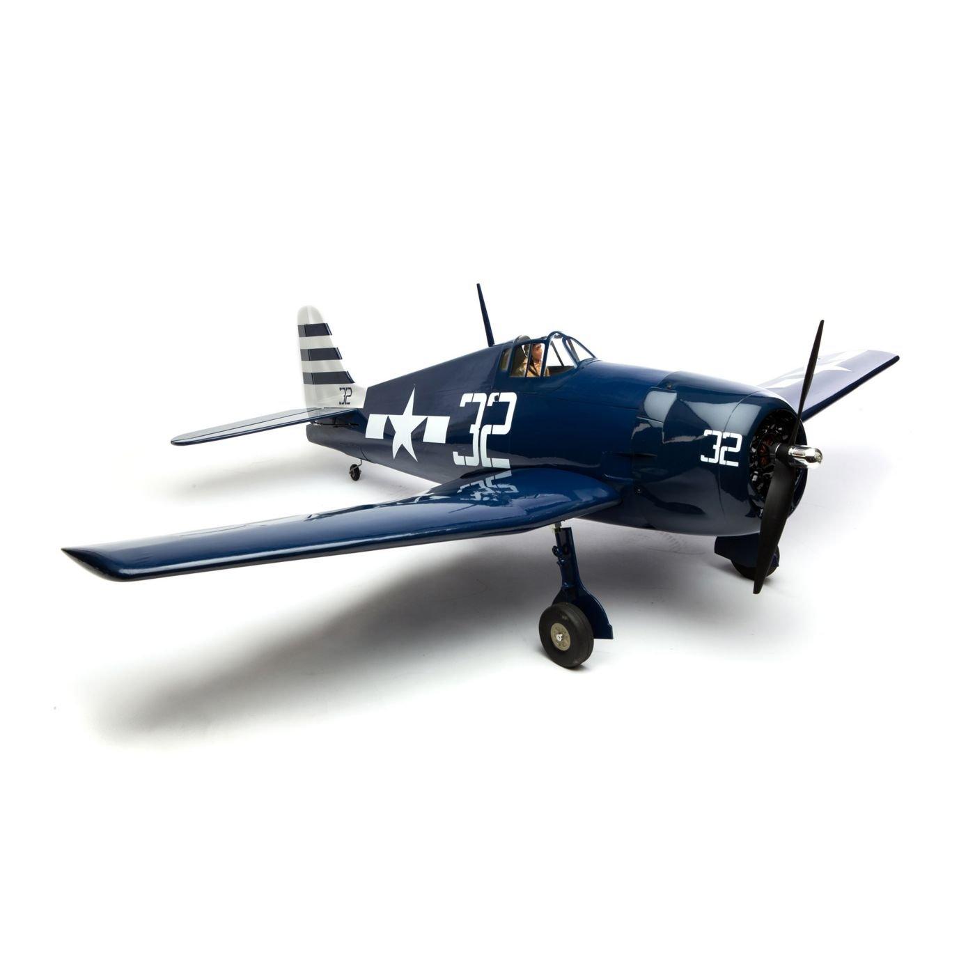 Amazon.com: Hangar 9 F6F Casco 15 cc ARF: Toys & Games