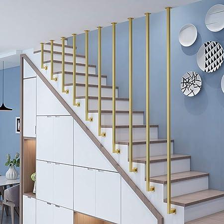 YUDE-Creative Barandilla de Escalera en Forma de L, tubería galvanizada, barandilla de Seguridad Antideslizante, Adecuada para escaleras, Villa (Opcional de Varios tamaños): Amazon.es: Hogar