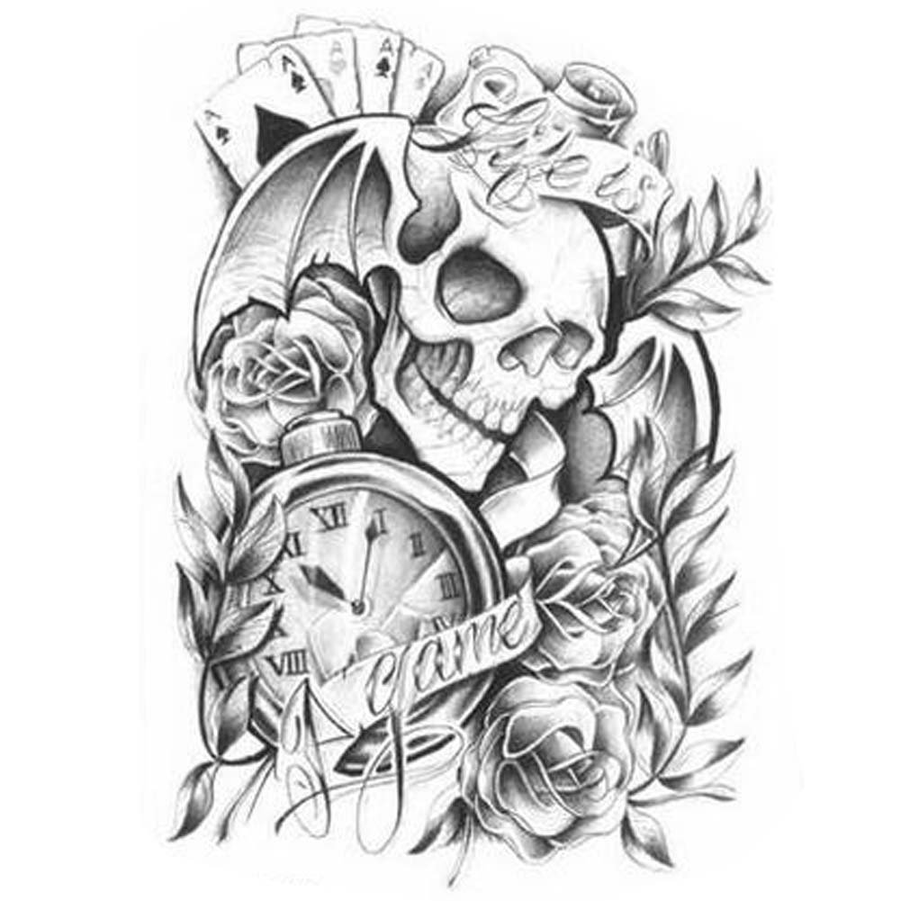 Tattoo Design Individual Styles Fake Body Tattoos Temporary Fake Tattoos Sticker