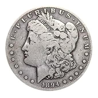 BU 90/% Silver Morgan Dollar Random Years USA Made Coin 1878-1904 Pre-1904