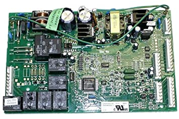61hJviH5E8L._SX355_ amazon com ge wr55x10942 refrigerator main control board home GE Motherboard at arjmand.co