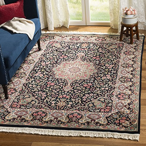 (Safavieh Royal Kerman Collection RK3B Hand-Knotted Multicolored Wool Runner (2'6