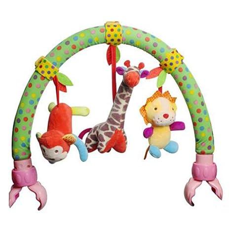 Highdas bebé colgante juguetes de peluche con velcro se puede colgar cama / cunas y Buggy