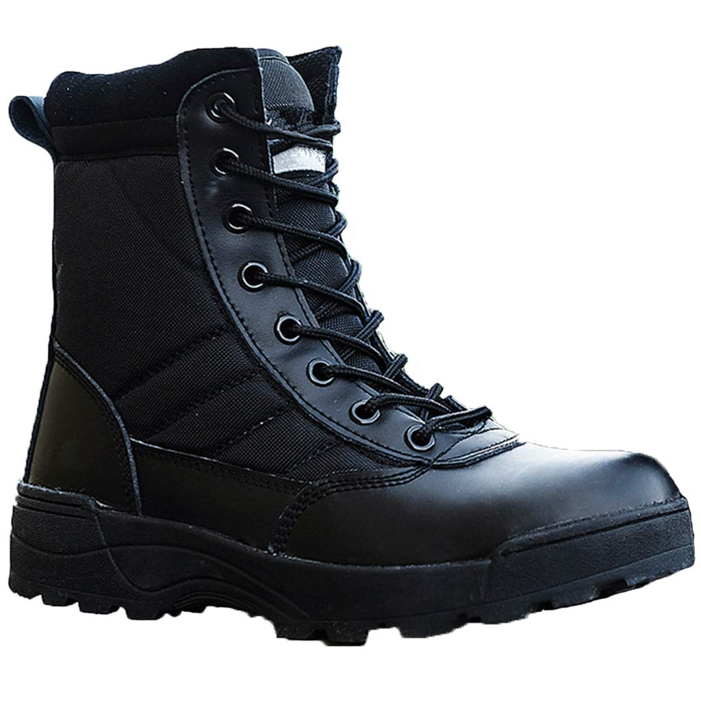 Walking Lace Up Tactical Combat High Boots Shoes Hiking Training Ankle Boots