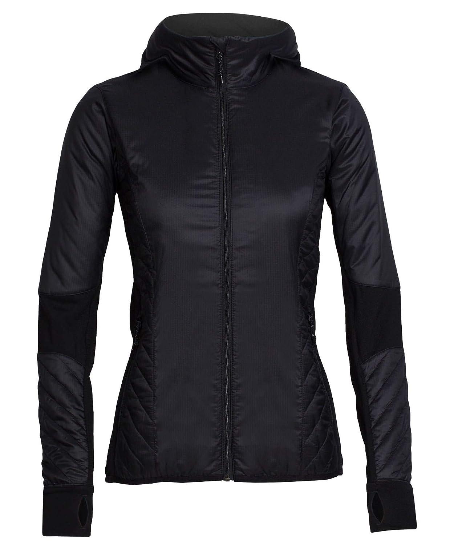 Icebreaker Damen Jacke kapuze Pullover Helix Long Sleeve Hood