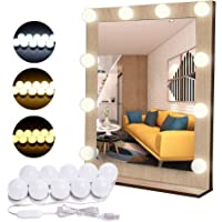 Flybiz DIY Vanity Lights Strip Kit, USB-kabel Hollywood make-up spiegel lichten met 10 dimbare lampen, 3 kleurmodi & 10…