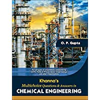 Khanna's Multi-Choice Questions and Answers in Chemical Engineering