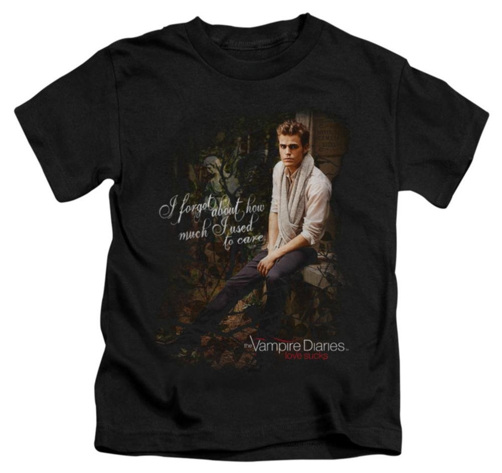 Amazon Com Juvenile The Vampire Diaries I Used To Care Kids T Shirt Size 7 0609328010441 Books