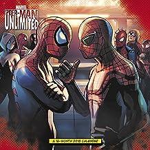 2018 Spider-Man Unlimited Wall Calendar (Day Dream)