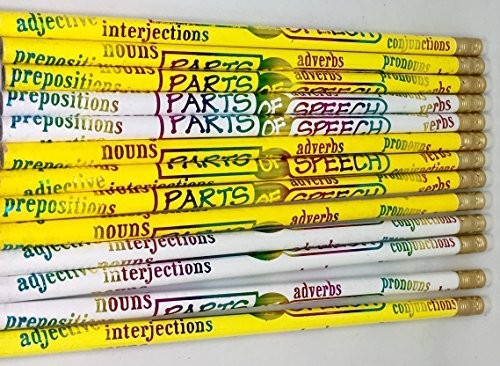 Parts of Speech Pencils D2566 (Pencil Part)