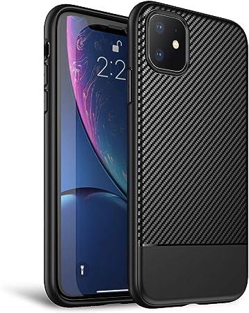 Nalia Hülle Kompatibel Mit Iphone 11 Carbon Look Elektronik