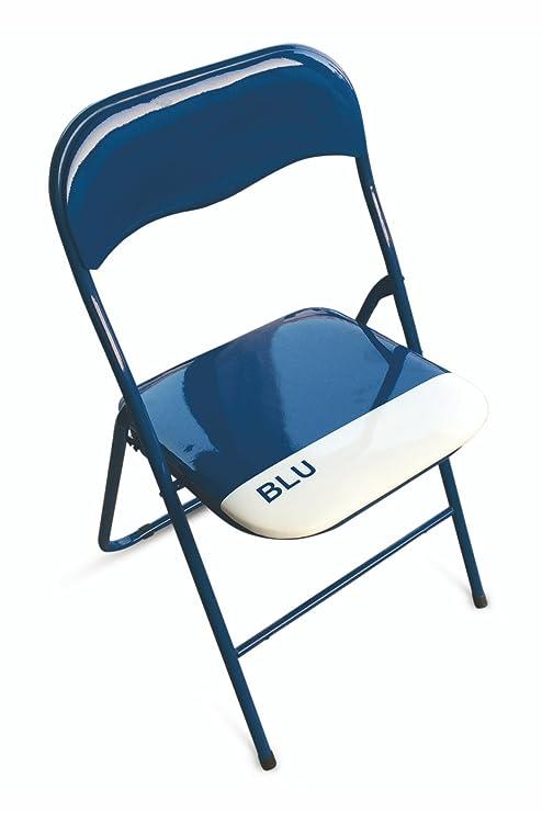 Sedie Pieghevoli In Pvc.Galileo Casa 2403882 Color Chair Set Di 6 Sedie Pieghevoli Pvc
