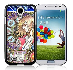 Samsung Galaxy S4 Case,Excellent protection Howl's Moving Castle Black For Samsung Galaxy S4 i9500 Case