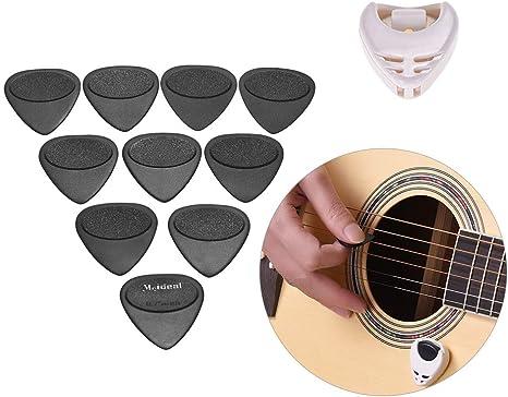 10 Stück Zelluloid Daumen-Finger-Gitarren-Pedale Picks E-Gitarren-Teile