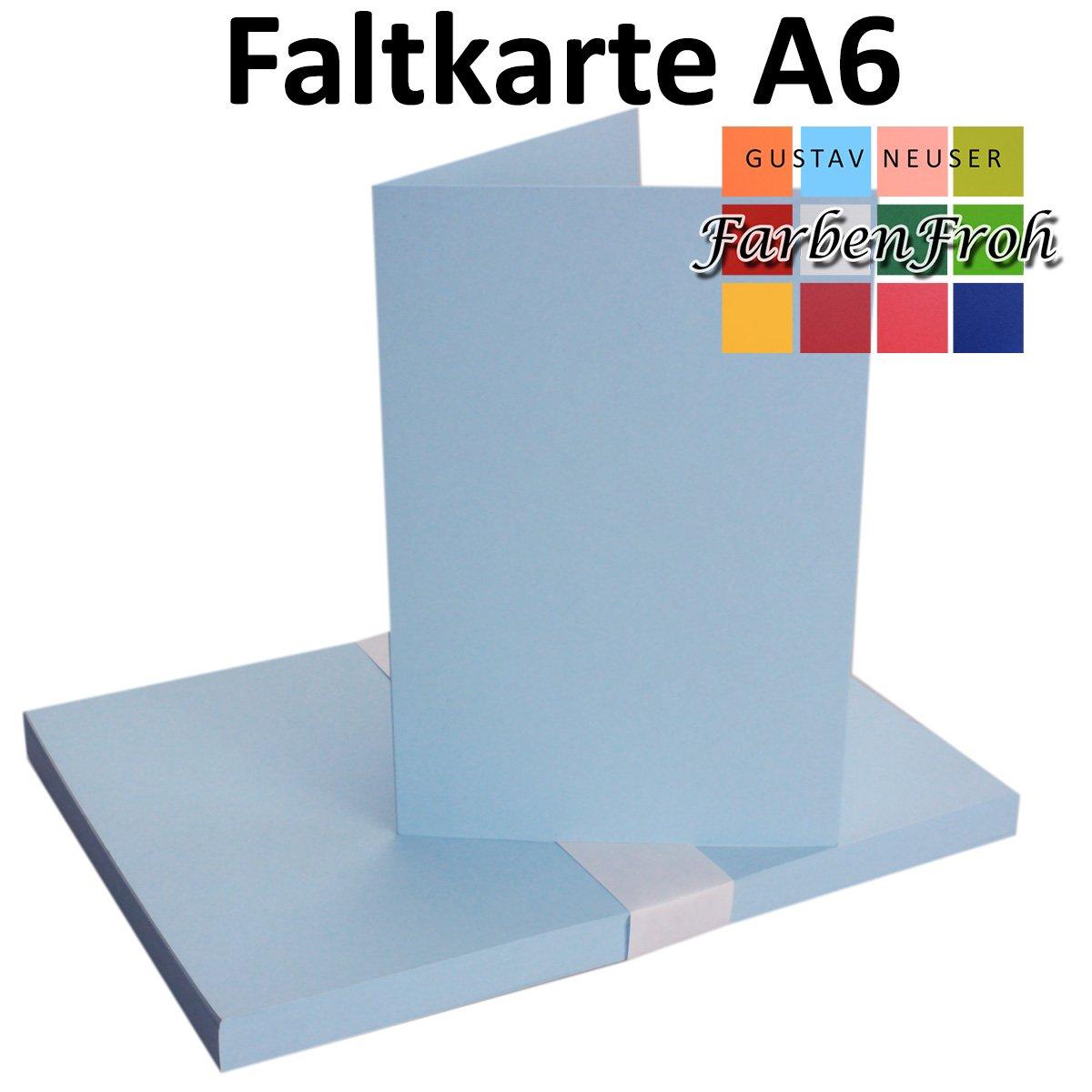 250x Falt-Karten DIN A6 Blanko Blanko Blanko Doppel-Karten in Hochweiß Kristallweiß -10,5 x 14,8 cm   Premium Qualität   FarbenFroh® B079VHX97H | Hohe Qualität  6dd480