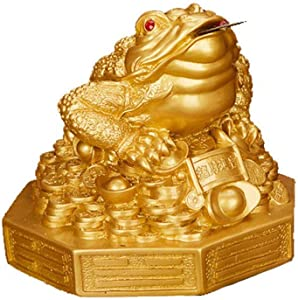 Mini Feng Shui Money Frog/Money Toad Attract Wealth - Home Decoration
