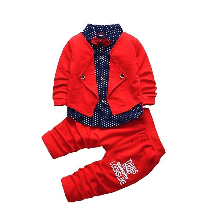 amazon com 2pcs baby boy dress clothes toddler outfits infant