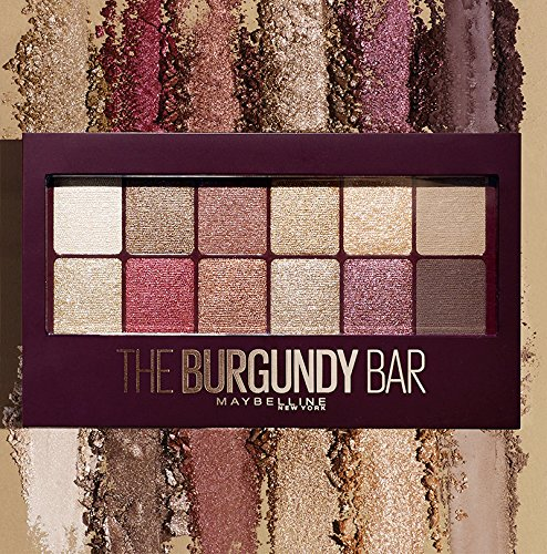 d03d097cec0 Maybelline New York Palette Lidschatten The Burgundy Bar: Amazon.de: Beauty