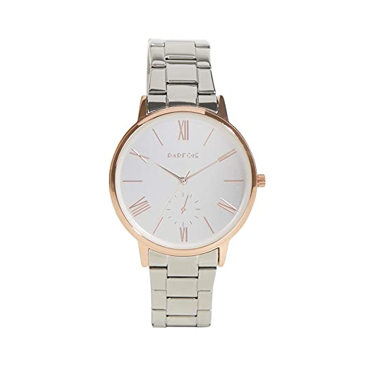 Parfois - Reloj Silver - Mujeres - Tallas Única - Plateado 1: Amazon.es: Relojes
