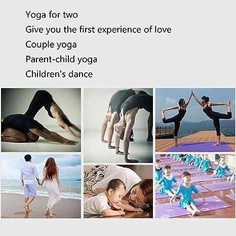 YUEBAOBEI Estera De Yoga - Doble Capa De Dos Colores ...