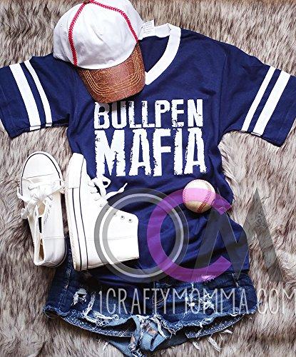 Bullpen Mafia Baseball T-Shirt, Cleveland Indians Baseball T-Shirt, Baseball Pitcher Shirt - Jersey Shirt Cleveland Indians Pitcher