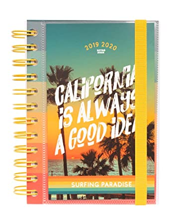 Amazon.com : California 2019-2020 Academic Diary, Organiser ...